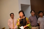Dr. Loh Kim Cheng, our out-going General Secretary, giving thanks to GOD who has been Our Ebenezer! The Lord of ALL!